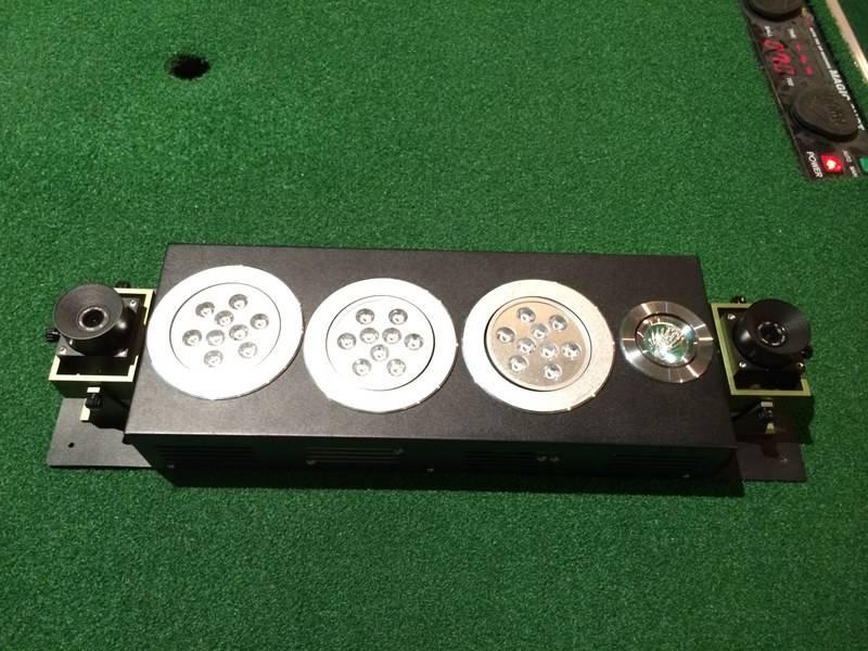Gopar 3D high speed camera sensor golf simulator
