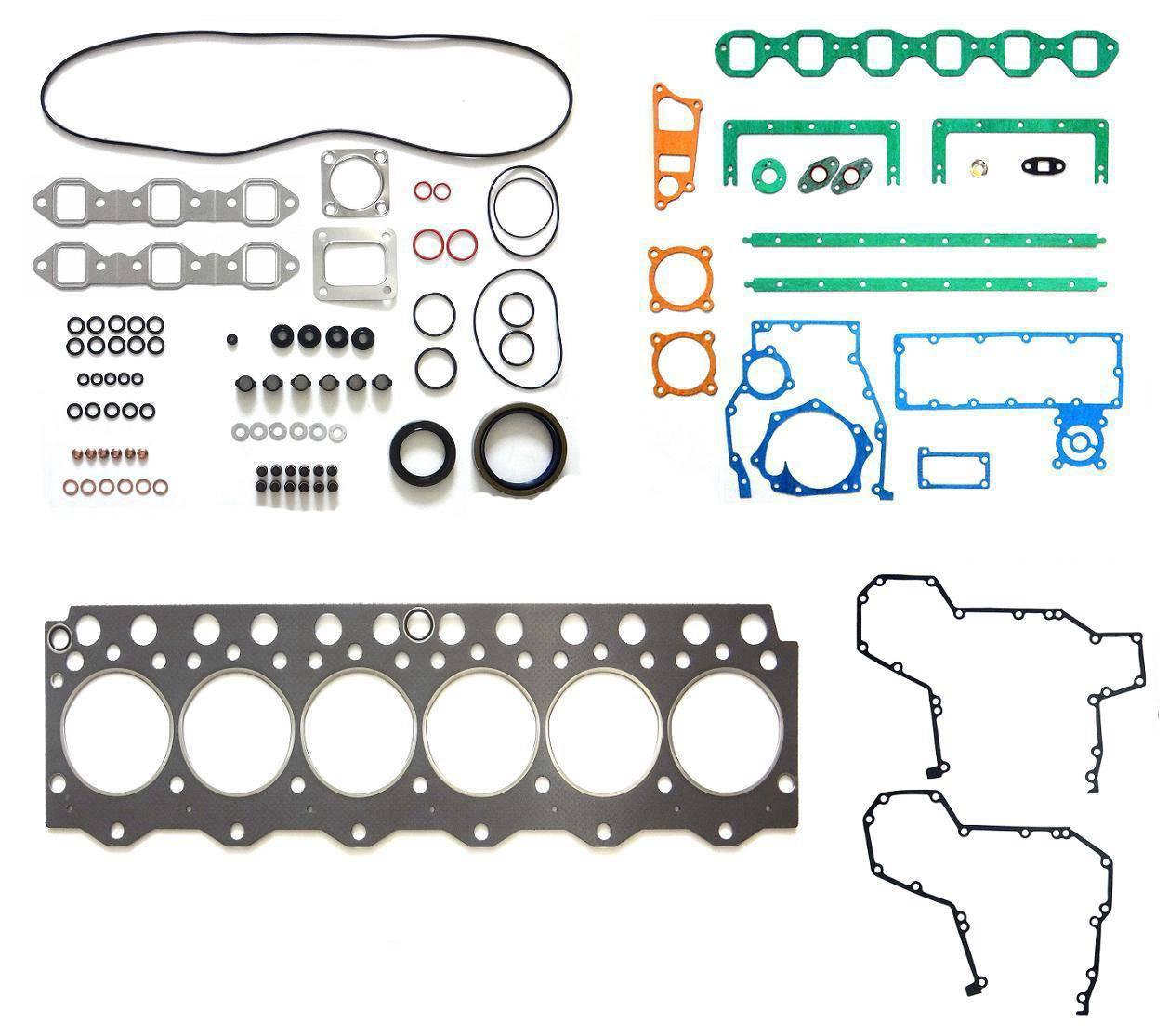 Komatsu 6D95 gasket kit, Full set, Overhaul gasket kit, Compelete gasket kit