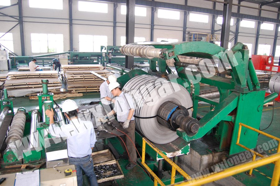 8X2000mm HR Steel Coil Slitting line