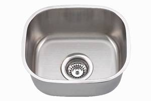 Undermount Single Bowl Stainless Steel Bar Sink