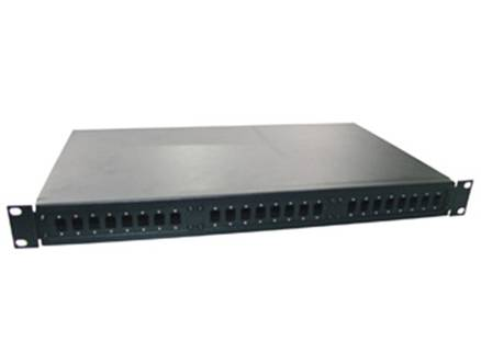 Supply FO Patch Panel SC type 24 Port, 19 1U Rack Mounted (frosted surface)_Y0905C-24