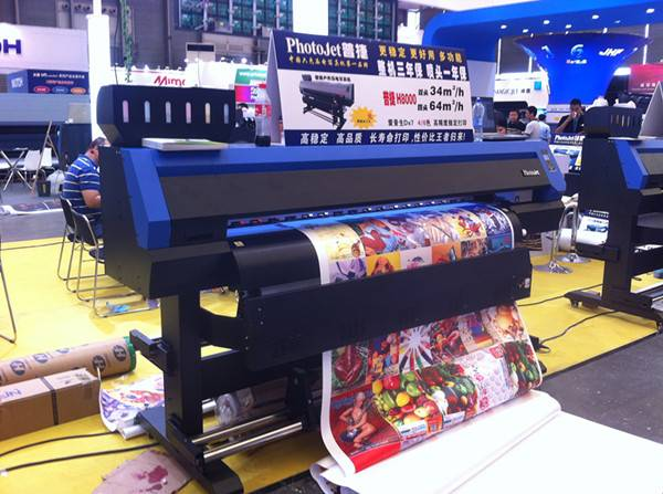 China made Outdoor digital printer machinery