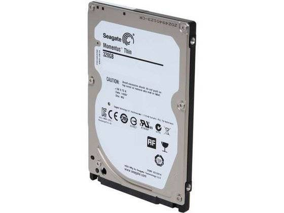 Seagate Laptop Ultrathin HDD 320GB Internal Hard Drive Disk