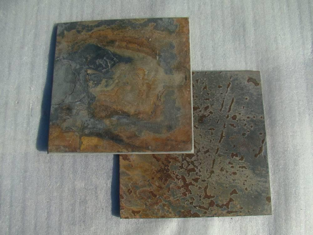 Slate tile ZF1120 brushed