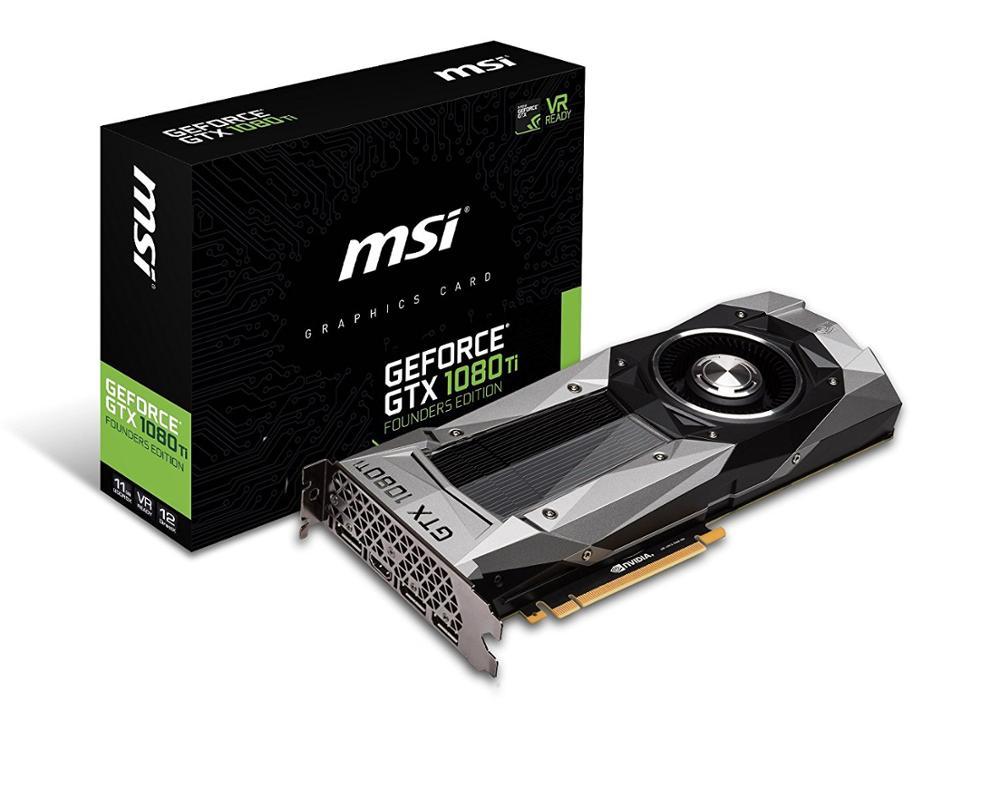 MSI GTX 1080 Ti 11G DUKE mining graphics card 1531