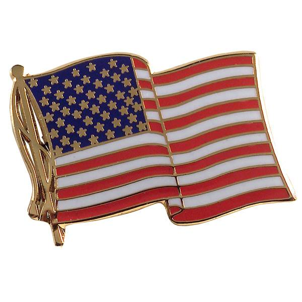 2014 years favorable lapel pins(The country's flag)