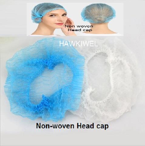 protective non-woven caps