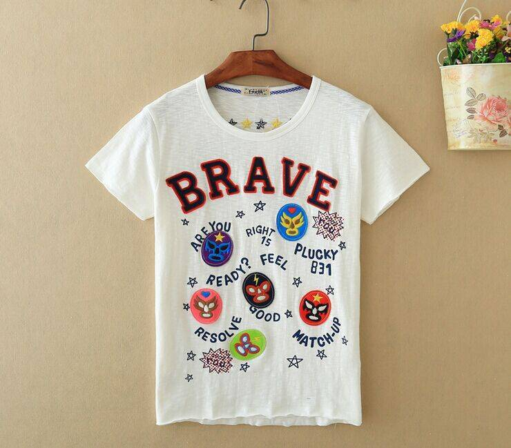 2015 New Lady Brave Short SleeveT-Shirt