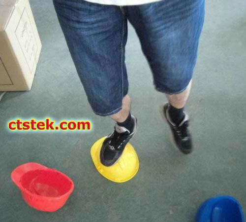 Helmet preshipment inspection