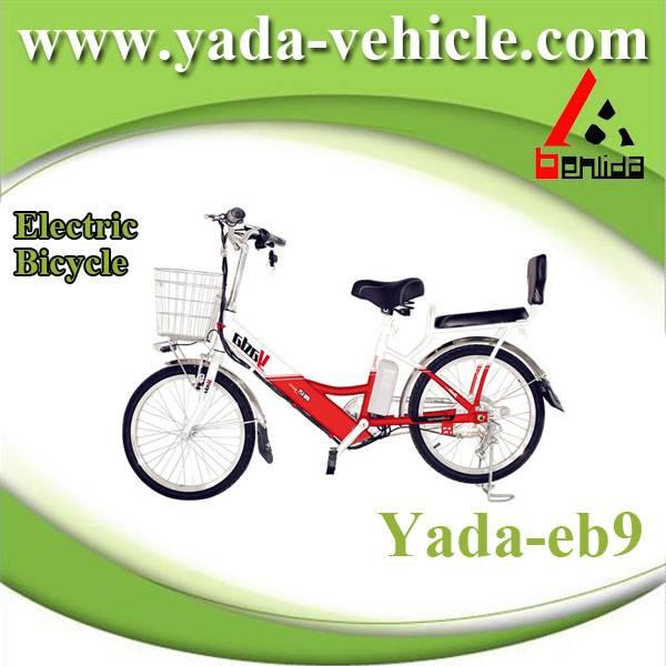 48v 350w 10ah 22inch lithium mini city electric bicycle bike (yada eb9)