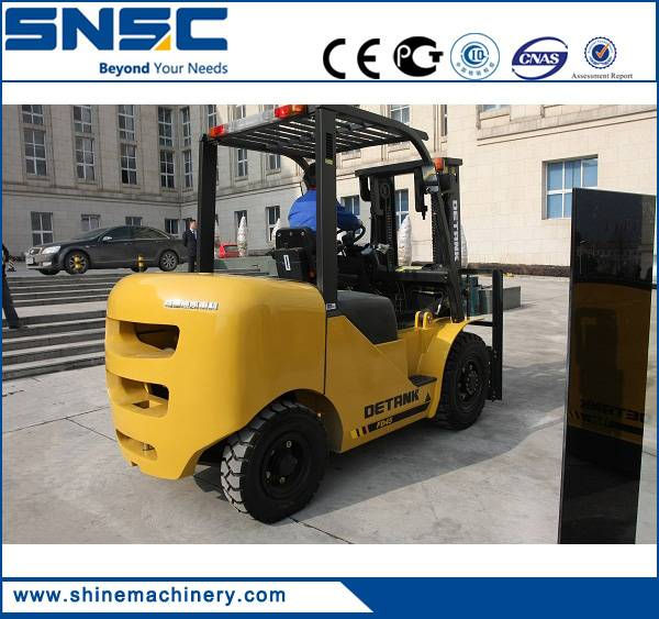 4.5 ton Chinese new brand diesel forklift price