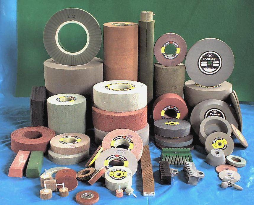 grinding wheel for polishing and grinding.