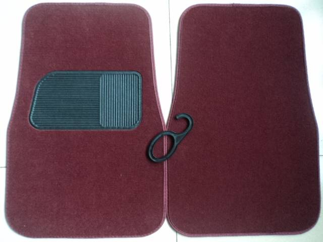 TOYOTA OEM 5pcs/set Car floor mat tufted and loop with TPR backing Front:5745c