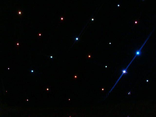 LED RGB Star Curtain Light BS-9008