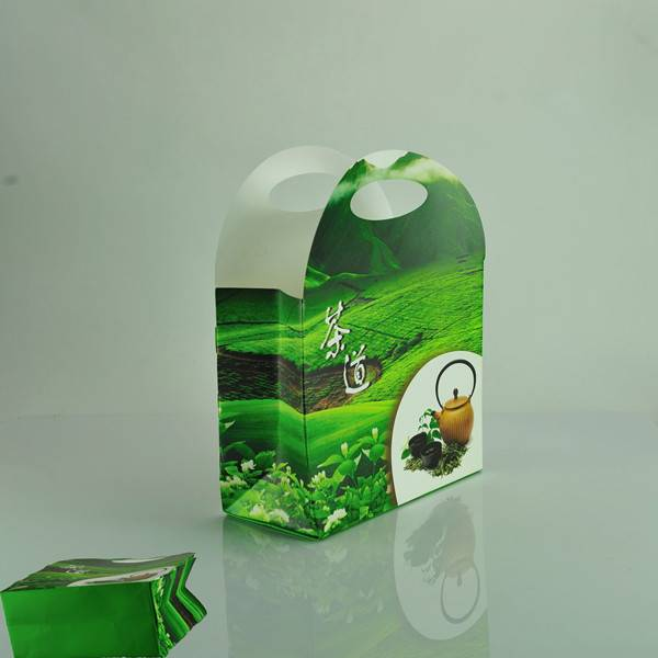 Eco-friendly stone paper tea gift bag