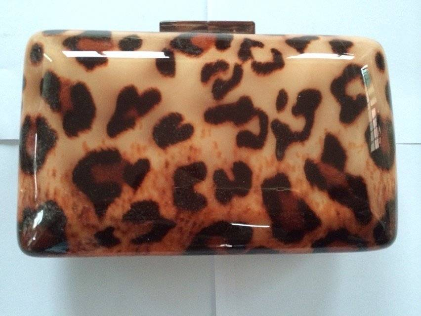 Leopard Evening bag