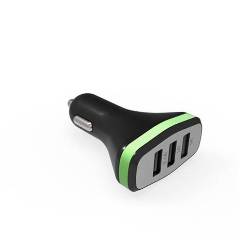 Portable Car Battery Charger/3 Usb Car Charger For Iphone 5