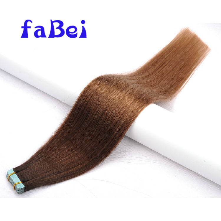 Wholesale Straight Hair extension 100% Brazilian Human Tape Hair Extension