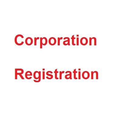 incorporation de la compagnie