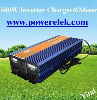 1000W 500W 300W Inverter with Charger with meter (good price)