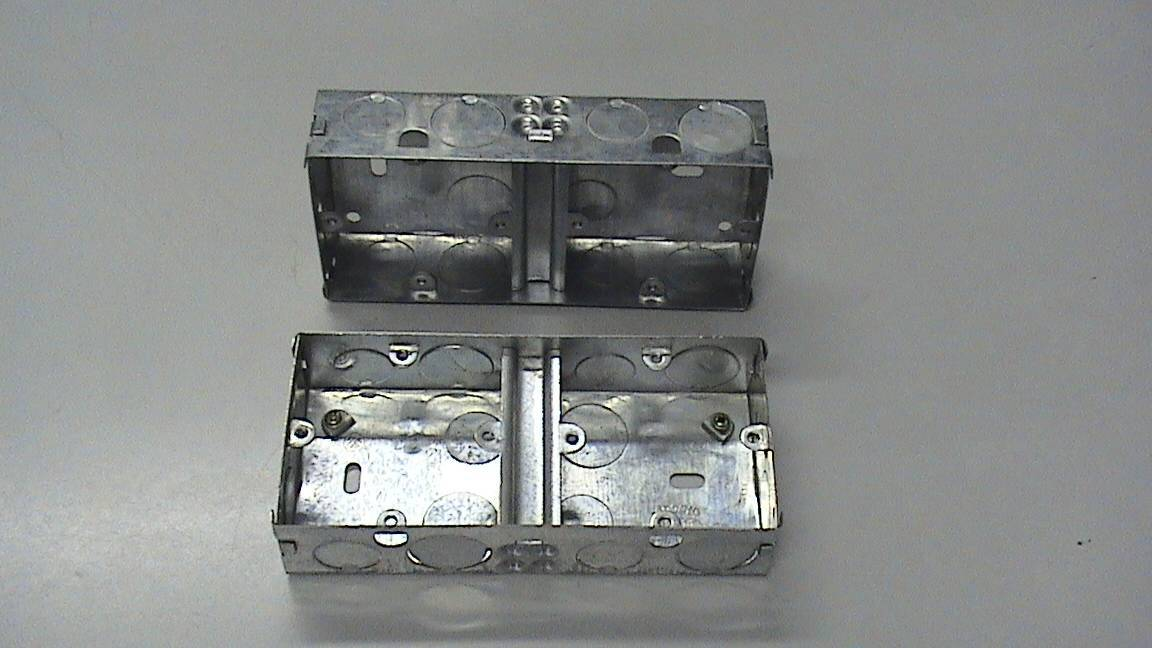 We manuf & export GI Switch Socket box, Cable Tray, Cable ladder