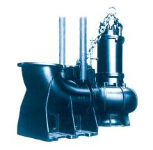 submersible motor pump for large capacity