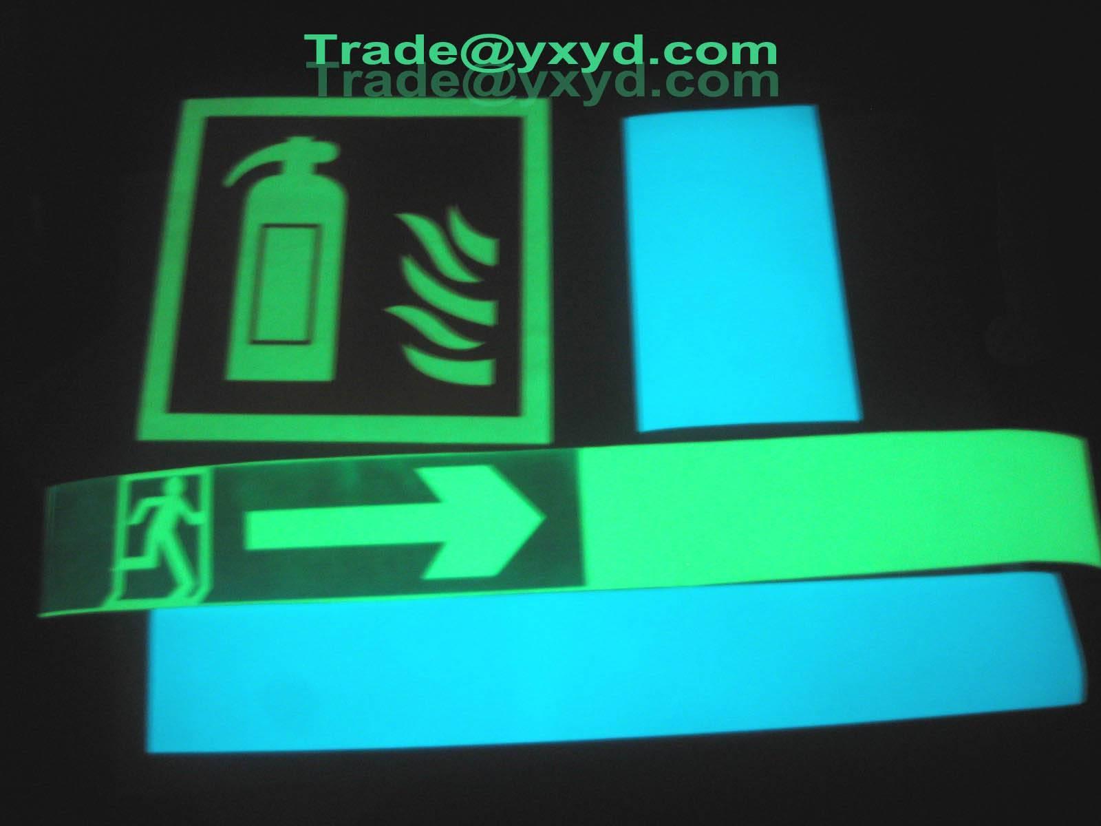 glow in the dark film ,luminescent film, luminous film,glow film