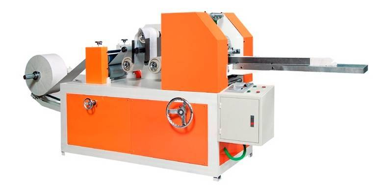 Automatic pocket tissue converting machine