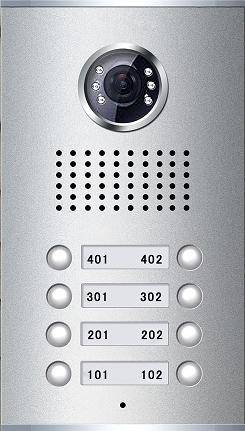 Video Door Phone for Apartment(8-button)