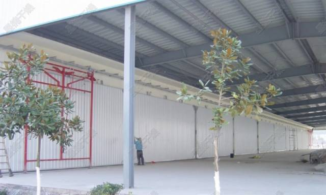 Concrete and brick conventional wood drying equipment