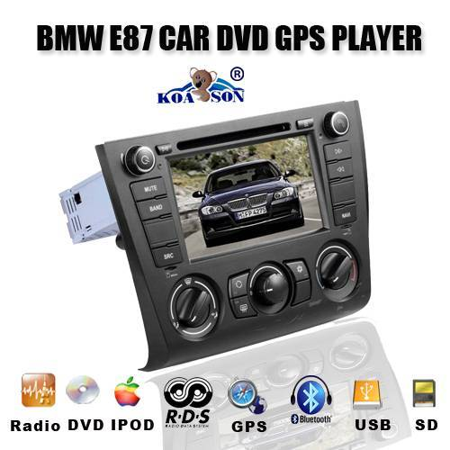 Car DVD GPS Player for BMW E87