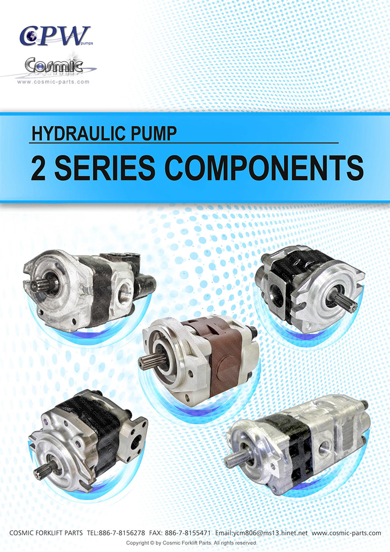 Cosmic Forklift New Parts-Hydraulic pump [CPW] 2 SERIES COMPONENTS