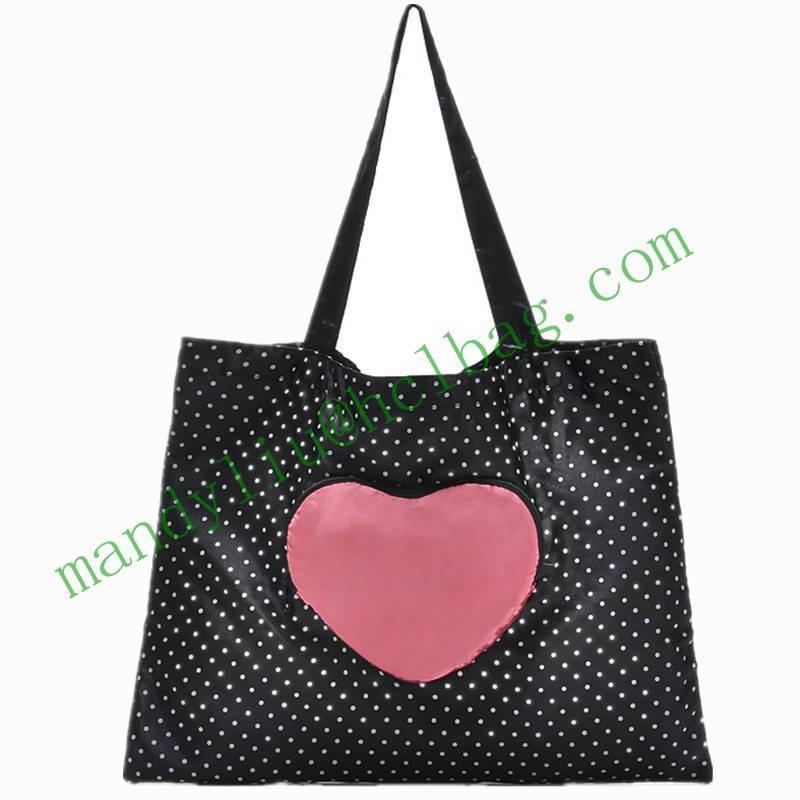 fashion lady foldable shopping bag