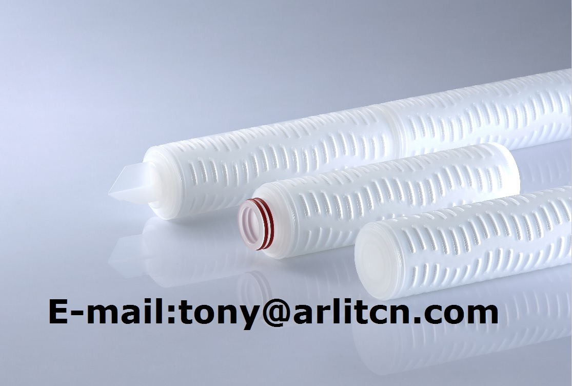 China Hot Sale PP/PTFE/PES Pleated Water / Liquid Micropore Filter Cartridge