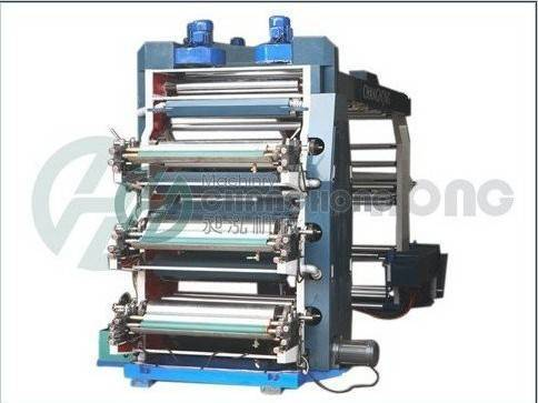 6 Colour Plastic Bag Printing Machine-CH Series