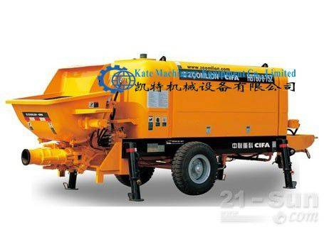 Used concrete pump truck for sale