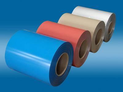 Colorful Paint Aluminum Coil , Construction materials
