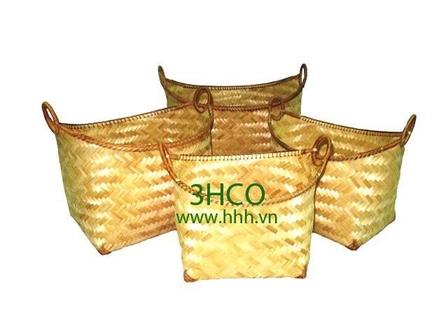 Bamboo Basket BH2010/4NA
