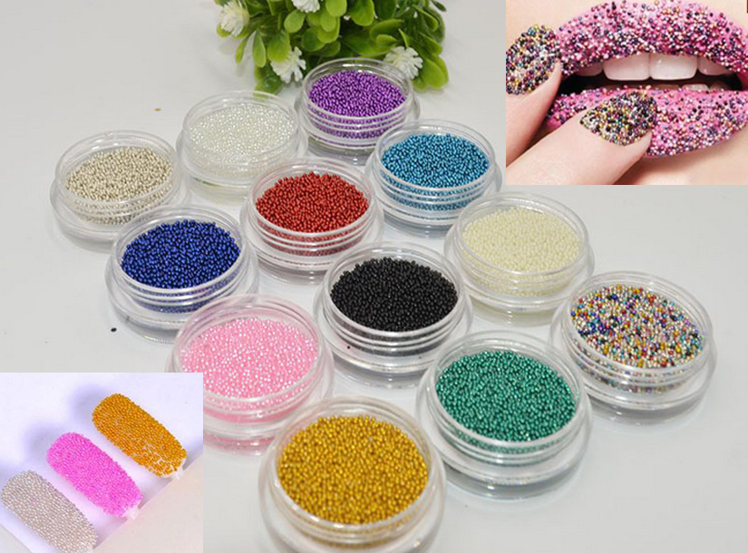 nail art caviar beads