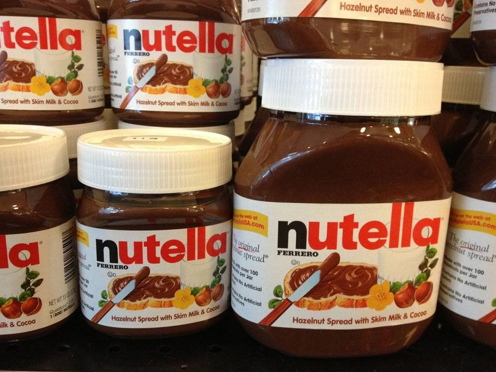 Nutella Cream Chocolate 230g, 350g and 600g