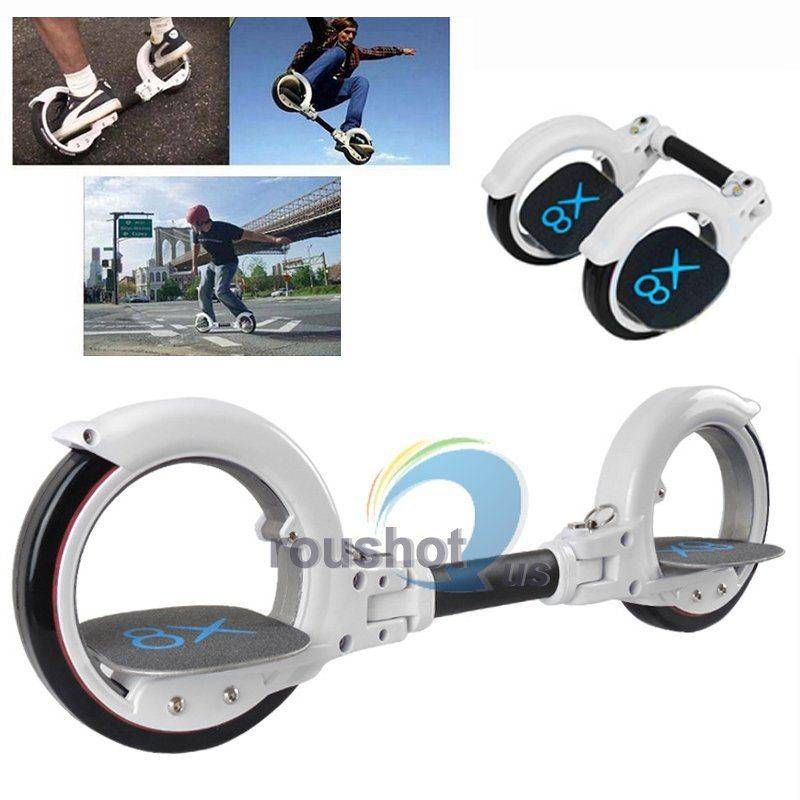 White Professional Cool Sport Two Wheel Smart Self Balancing Scooter Skateboard