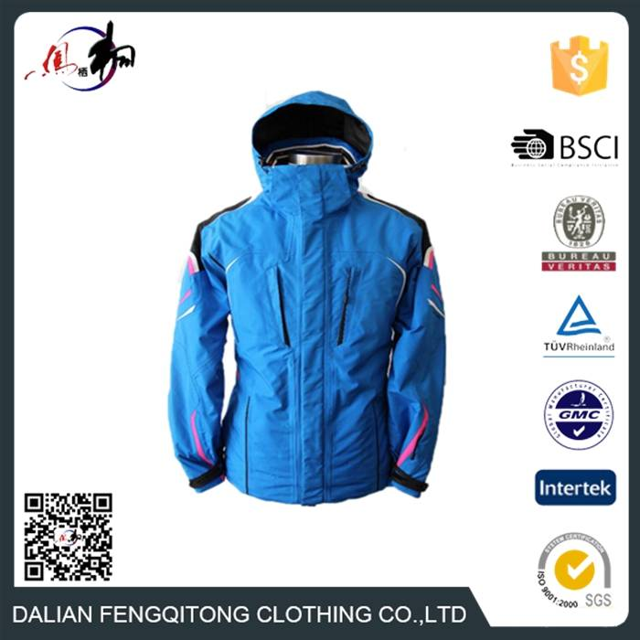 Custom Winter Jacket Fashion Waterproof Windproof Ski Jackets