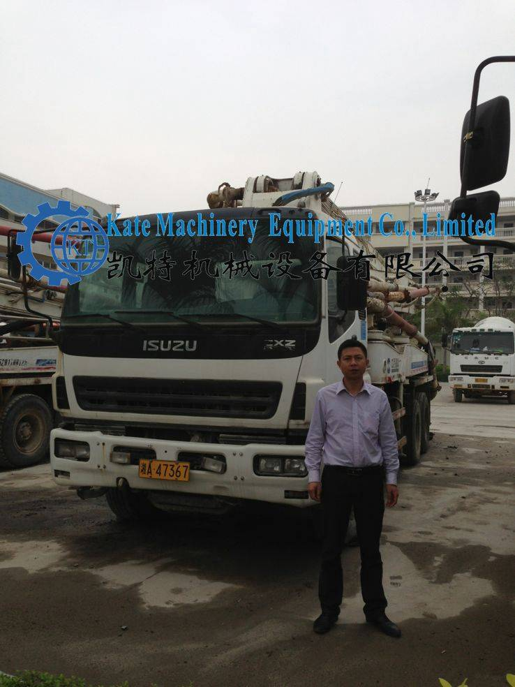 ZOOMLION concrete pump truck for used to sell