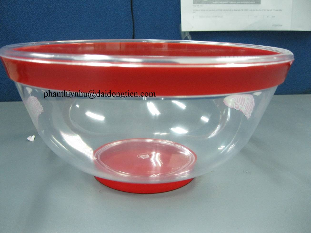Supply 2 color plastic bowl - high quality