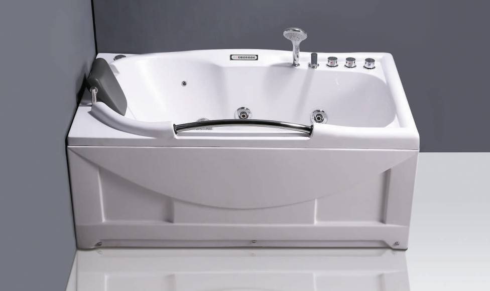 Solid surface bedewannen portable massage bathtub