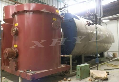 sell rice husk pellet burner for fuel oil boiler