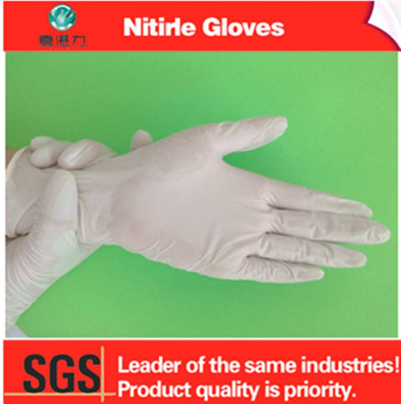 Professional Manufacturer Supply Disposable Gloves Nitrile Material