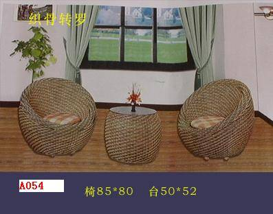 Natural rattan weaving sofa