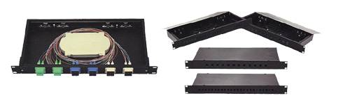 fixed type optical fiber patch panel
