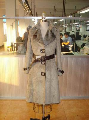 lady's fashion coat-005
